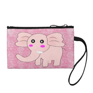 Pink Elephant Coin Purse