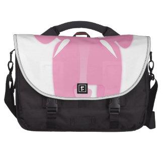 Pink elephant computer bag
