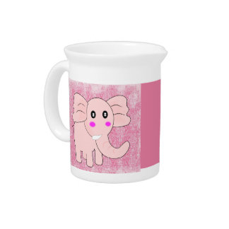 Pink Elephant Drink Pitcher