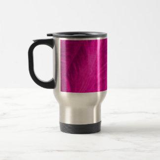 Pink Elephant Ear Close Up Travel Mug