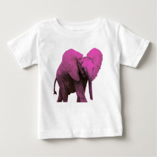 Pink Elephant for Baby Baby T-Shirt