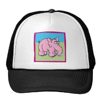 Pink Elephant Hats