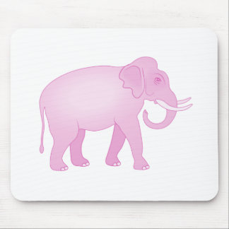Pink Elephant Mouse Pad
