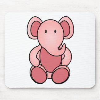 Pink Elephant Mouse Pad