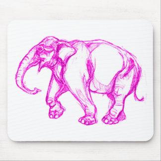 PINK ELEPHANT MOUSEPADS