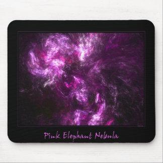 Pink Elephant Nebula Mouse Pad