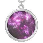 Pink Elephant Nebula Necklaces
