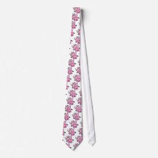 Pink Elephant Neck Tie