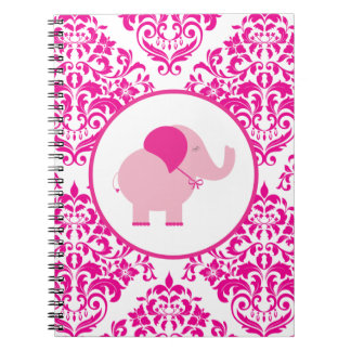 Pink Elephant Note Book