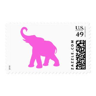 Pink Elephant Postage