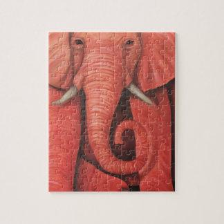 Pink Elephant Puzzle