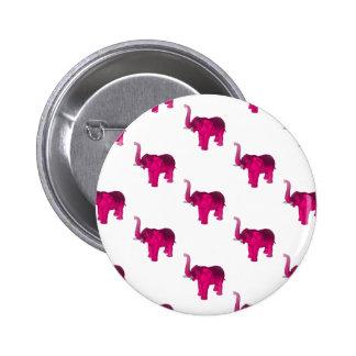 Pink Elephant(s) Pinback Button