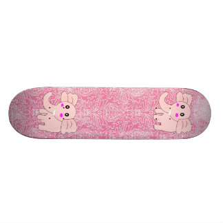 Pink Elephant Skate Board Deck