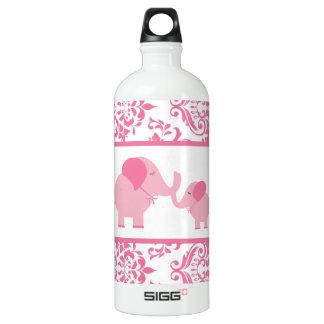 Elephant Baby Shower Water Bottles Zazzle