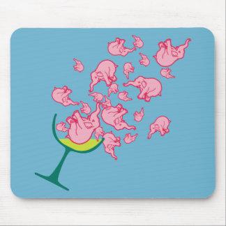 Pink Elephants Mousepad