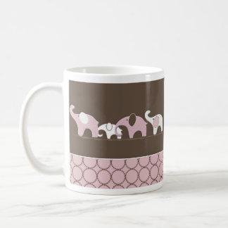 Pink Elephants Mug