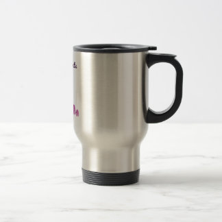 Pink Elephants On Parade Travel Mug