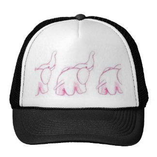 Pink Elephants On Parade Trucker Hat