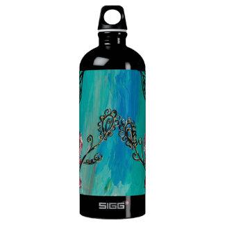 Pink Elephants Water Bottle