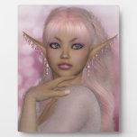 Pink Elf Display Plaque