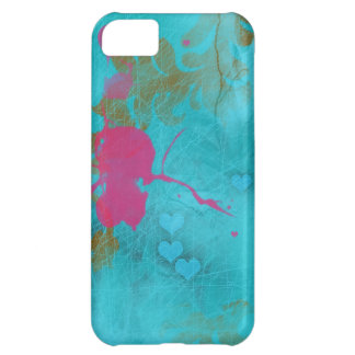 Pink elf in love iPhone 5C cover