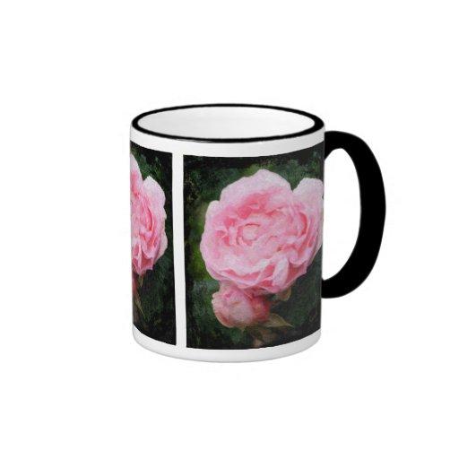 Pink English Rose Mug