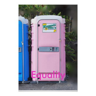 Pink Equality Poster