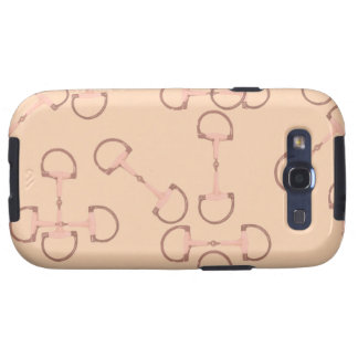 Pink Equestrian Horse Bits Galaxy SIII Cover