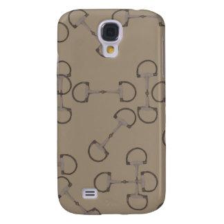 Pink Equestrian Horse Bits Galaxy S4 Case
