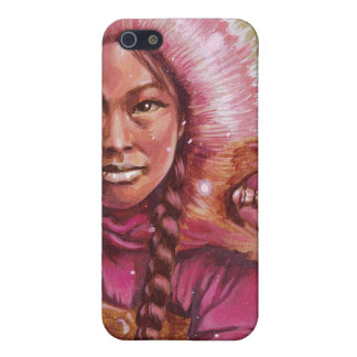 pink-eskimo case for iPhone SE/5/5s
