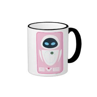 Pink Eve Disney Ringer Mug