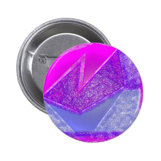 Pink Experiment 2 Inch Round Button