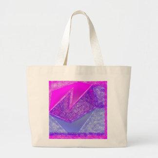Pink Experiment Jumbo Tote Bag