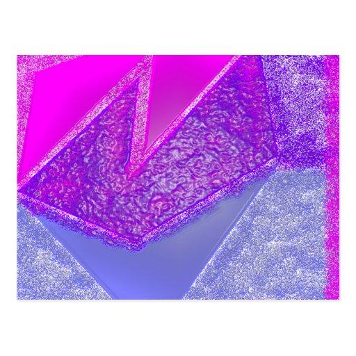 Pink Experiment Postcard