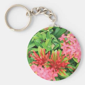 Pink Explosion Keychain