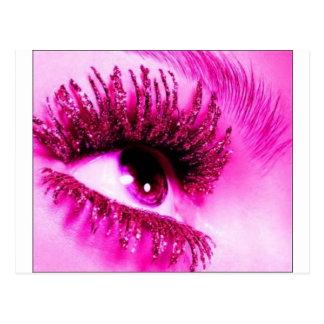Pink Eye Postcard