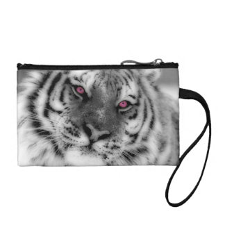 Pink Eyed Tiger Coin Purse