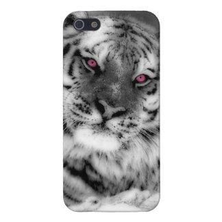 Pink Eyed Tiger iPhone SE/5/5s Case