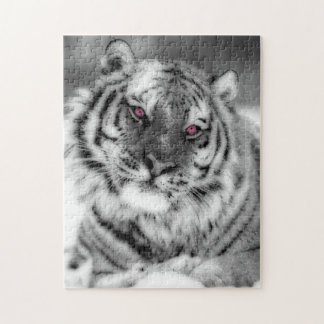 Pink Eyed Tiger Puzzle