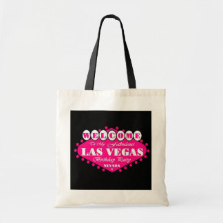 PINK fabulous Las Vegas Birthday Party Bag