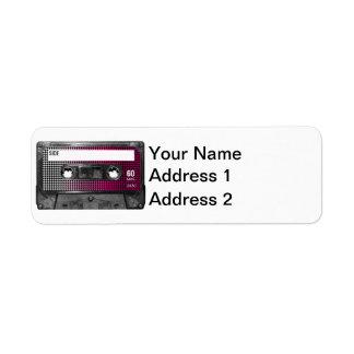 Pink Fade Label Houndstooth Cassette