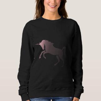 Pink fading Unicorn Sweatshirt