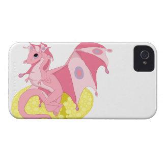 Pink Fae Dragon BlackBerry Bold Case