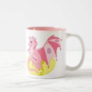 Pink Fae Dragon Hatchling Mug