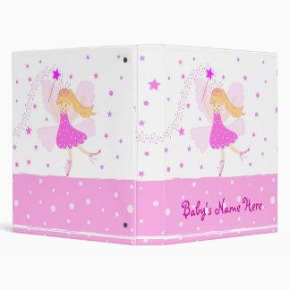 Pink Fairy Ballerina Photo Album 3 Ring Binders