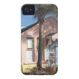 Pink Fairy Beach Cottage Case-Mate iPhone 4 Case