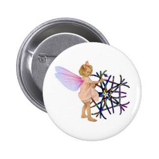 Pink Fairy Buttons