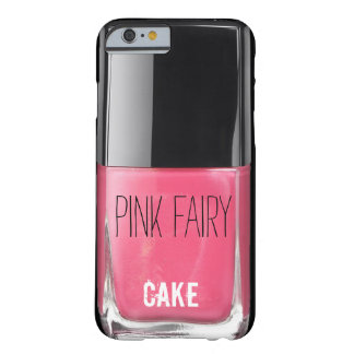 PINK FAIRY CAKE NAIL POLISH BARELY THERE iPhone 6 CASE