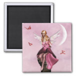 Pink fairy fantasy Magnet