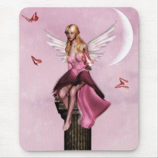 Pink fairy fantasy Mousepad